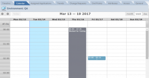 continuous deployment calendar