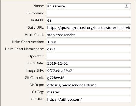 microservice metadata